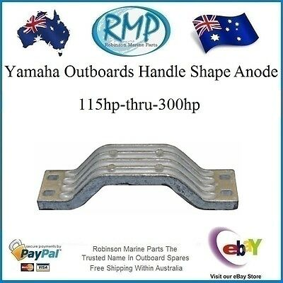 A Brand New Handle Shape Anode Yamaha Outboards 115hp-thru-300hp # CDZ9-47