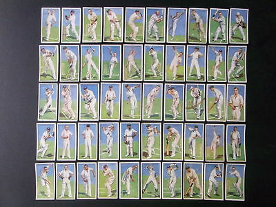 Cigarette cards 50 Players Cricketers 1930 £75.00