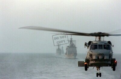 US NAVY USN_SH-60B Seahawk helicopter 8X12 PHOTOGRAPH