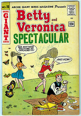 Betty & Veronica Spectacular #16 3.75 Cream To Off-White Pages Silver Age Giant