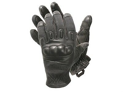 Blackhawk Fury Kevlar Tactical Gloves 8157MDBK  Medium  Black Hard Knuckle
