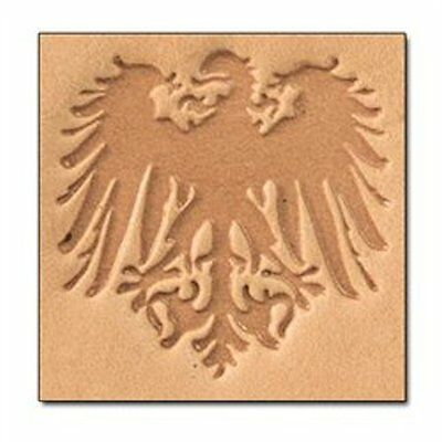 Crest 3D Stamp 8663-00 by Tandy Leather