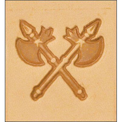Crossed Blades 3D Stamp 8566-00 by Tandy Leather Craftool