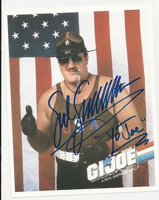 Sgt. Slaughter - WWE Champion signed photo