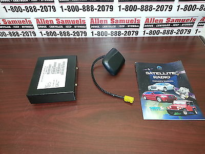 New OEM Mopar Sirius Satellite Receiver with Antenna