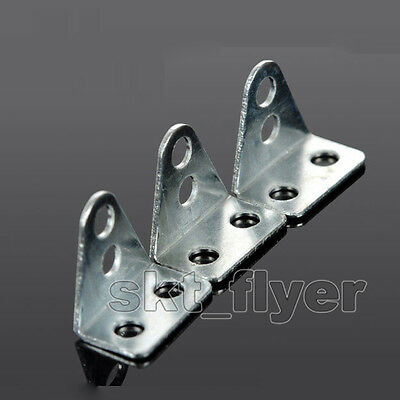 50pcs Small L-shaped Angle Iron For Architectural Model Toy Car Part DIY Robotic