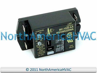 ICP Heil Tempstar Fan Relay Control Board BC1526AA BC7058HO FTC5EH01 ST9000C1008