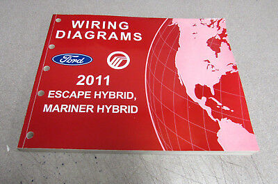 2011 ford escape mercury mariner hybrid service repair wiring diagrams  manual