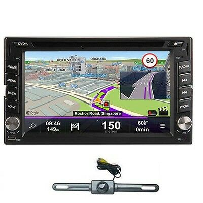 """In Dash 6.2"""" 2Din Car DVD Stereo GPS Navigation Cpu 1G Android 3G WIFI+CAMERA"""