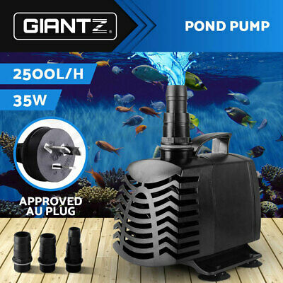 2500LPH Submersible Aqua Aquarium Fountain Pond Marine Water Pump Fish Tank Air