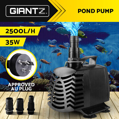2500LPH Submersible Aqua Aquarium Fountain Pond Marine Water Pump Fish Tank