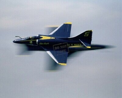 US NAVY USN A-4F Skyhawk aircraft assigned to the Blue Angels 8X12 PHOTOGRAPH