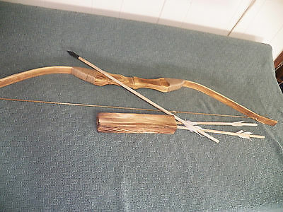 """Kid/'s Wooden Archery Bow and Arrow Set Kid/'s-Archery-Outdoors-Wood-/""""NEW/"""""""