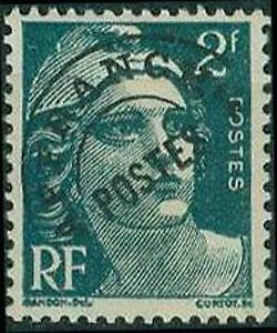 "FRANCE PREOBLITERE TIMBRE STAMP N°94 ""TYPE MARIANNE 2F VERT "" NEUF (x) TB"