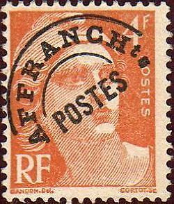 "FRANCE PREOBLITERE TIMBRE STAMP N°99 ""TYPE MARIANNE 4F ORANGE "" NEUF (x) TB"