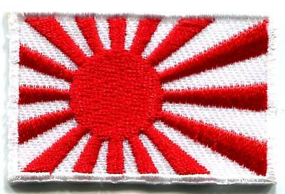 Japanese naval ensign flag banner Japan applique embroidered iron-on patch S-104