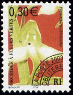 "FRANCE PREOBLITERE TIMBRE STAMP N°246 ""FLEUR,ORCHIDEE FLEURS VERTES"" NEUF xx TTB"