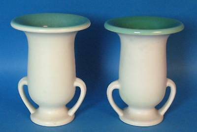Fine Pair of Art Deco Rookwood Arts & Crafts Pottery Vases MINT!  Dated 1929