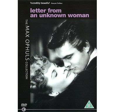 Letter From An Unknown Woman - DVD NEW & SEALED