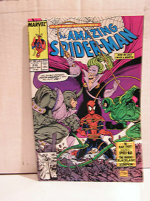 Hi-Grade Amazing Spider-Man #319 Marvel Comic Book NM/M-Todd McFarland (L9-319)