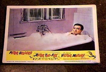 After The Fox 1966 Lobby Card #1 Peter Sellers