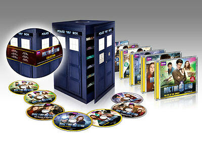 Dr Doctor Who Tardis Adventure Collection Audio CD Boxed Set MINT Matt Smith
