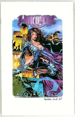 Witchblade Museum Edition Jay Company Coa Ltd 25 First Appearance Cyblade Shi #1