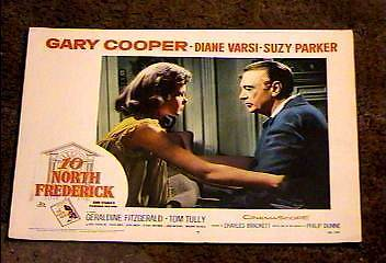 Ten North Frederick 1958 Lobby Card #7 Gary Cooper