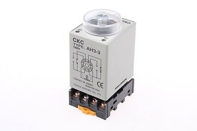 110V Power on delay timer time relay 0-30 second & Base