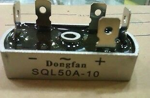 2x Bridge Rectifier 3 Phase Diode 50A Amp 1000V SQL50A
