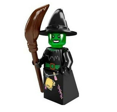 """COLLECTIBLE MINIFIGURE Lego Series 2 """"WITCH""""  NEW  Genuine Lego 8684"""