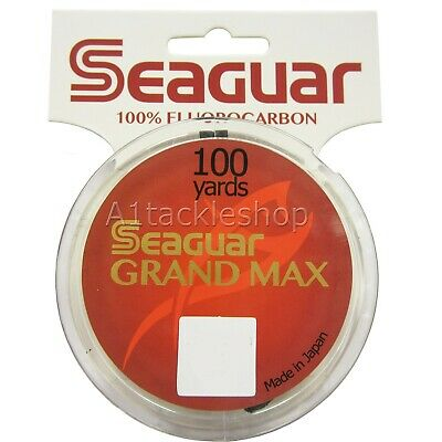 Riverge Grand Max 100yds Fluorocarbon -Choose Strain Leader/Tippet Trout/Salmon