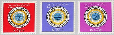 LIBYEN LIBYA 1971 348-50 430-32 25Ann Arab Postal Union Arabische Post Union MNH