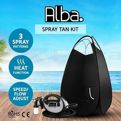 Professional Spray Tan Machine + Black Tent Sunless Kit Tanning Gun HVLP 700W