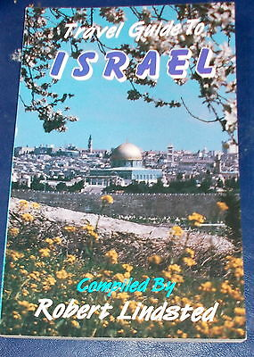 Lot/2: Touring Map Israel thru 4000 yrs history/Travel Guide Israel (Lindsted)PB