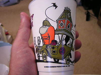 Creepy Coupe From The Wacky Races(1976) Lot of 5 cups