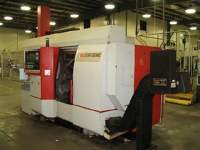 Emco-Maier Emcoturn 465Mc Twin-Spindle  6-Axis Cnc Turning Center - #24620