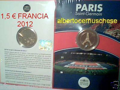 1,5 euro 2012 FRANCIA Paris St Saint Germain PSG france frankreich foot eiffel