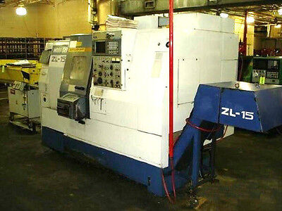 Zl-15S Mori-Seiki 4-Axis Cnc Turning Center - #25619