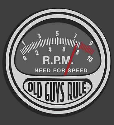 """OLD GUYS RULE /"""" BADGE OF HONOR /"""" FIRE AND RESCUE BEACH  S//S SIZE M"""
