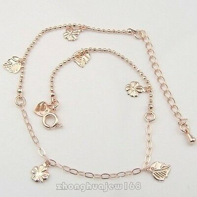 LOT NEW 275*1 mm FANCY LADY'S LOVELY IN 10K REAL ROSE GOLD FILLED BRACELET B110