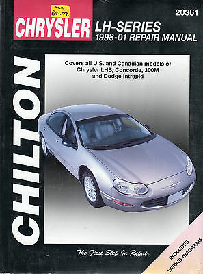 Chrysler LH-Series 1998-01 Chilton Manual NEW American