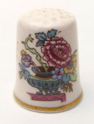 MASON'S ENGLAND NABOB IRONSTONE THIMBLE FOR FRANKLIN MINT 1980s WGPH