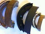 Brake shoe re lining service. For Any Classic Motorcycle Bsa Triumph Norton