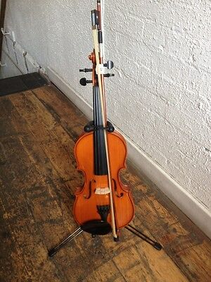 Violin  Viola Instrument Stand Very High Quality UK SELLER 1/4 - 1/2 - 3/4 - 4/4