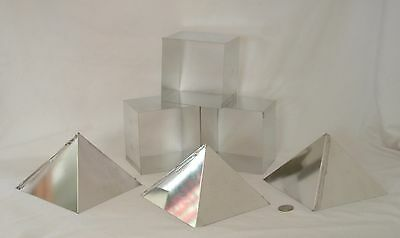 Orgone Supplies Giza Pyramid Mold 6 inch Lot of 3 Casting Hobby Craft