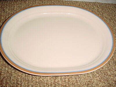 Corelle Sandscape 12.25 In Oval Serving Platter Vguc Very Rare! Free Ship In Usa