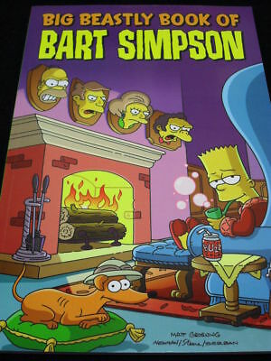 Simpsons Comics: Big Beastly Book Of Bart Simpson Tpb 4 Issues!