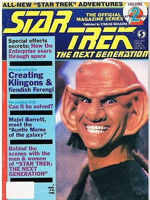 Star Trek The Next Generation The Official Magazine Series No.2 / 1987