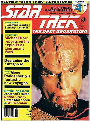 Star Trek The Next Generation The Official Magazine Series No.4 / 1988